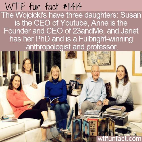 WTF Fun Fact - The Wojcicki Family