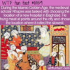 WTF Fun Fact – Where To Build A Hospital