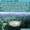WTF Fun Fact – Five-hundred-meter Aperture Spherical Radio Telescope