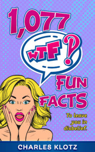 1077 WTF Fun Facts Book