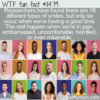 WTF Fun Fact – 19 Different Smiles