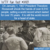 WTF Fun Fact – A Lot Of Handshakes