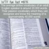WTF Fun Fact – Active Vocabulary