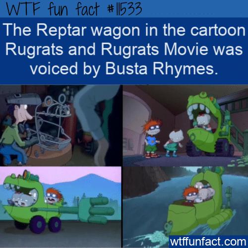 WTF Fun Fact - Busta Rhymes As Reptar