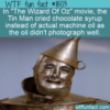 WTF Fun Fact – Chocolate Syrup Tears
