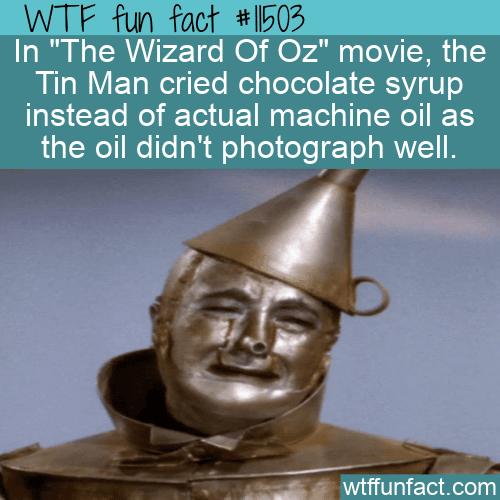 WTF Fun Fact - Chocolate Syrup Tears