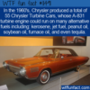 WTF Fun Fact – Chrysler Turbine Car