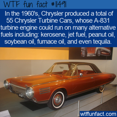 WTF Fun Fact - Chrysler Turbine Car