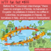 WTF Fun Fact – Columbian Interchange