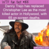 WTF Fun Fact – Danny Trejo's Deaths