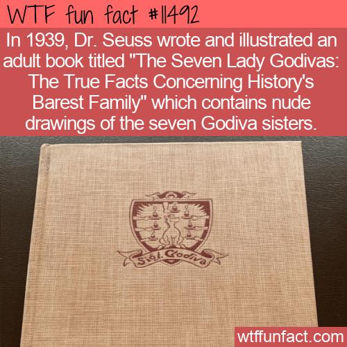 WTF Fun Fact - Dr. Seuss's Nude Illustrations