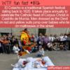 WTF Fun Fact – El Colacho Or Baby Jumping