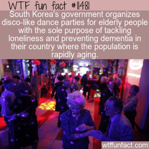 WTF Fun Fact - Elderly Disco