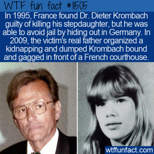 WTF Fun Fact - Father Kidnaps Daughter's Killer Stepfather