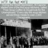 WTF Fun Fact – Free Soup Coffee & Doughnuts