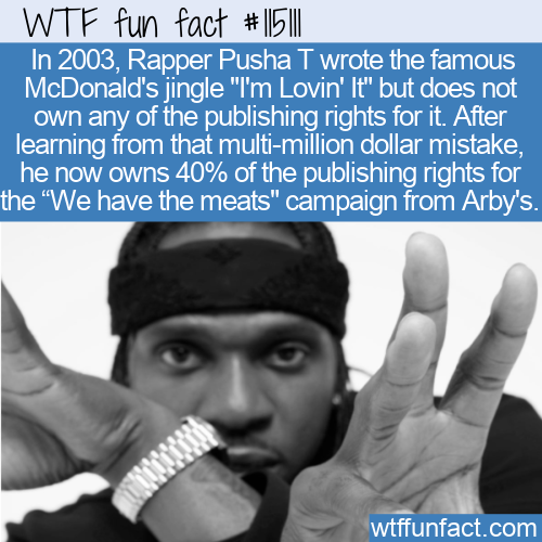 WTF Fun Fact - He's Got Meats But Not Lovin' It