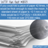 WTF Fun Fact – How Many Paper Folds To Reach The Moon?