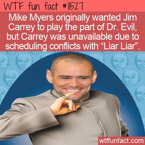WTF Fun Fact - Jim Carrey As Dr. Evil