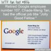 WTF Fun Fact – Jolly Good Fellow