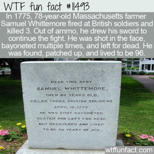 WTF Fun Fact - Samuel Whittemore