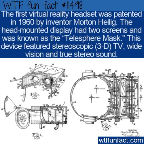 WTF Fun Fact - Telesphere Mask
