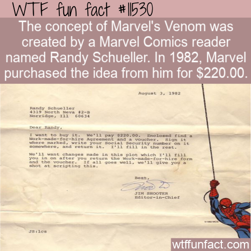 WTF Fun Fact - Venom For $220