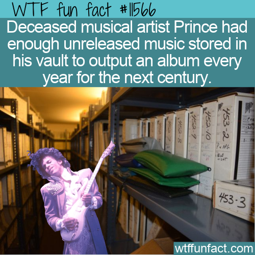 WTF Fun Fact - 100 Years Of Prince Albums