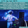 WTF Fun Fact – Astronaut And Musician Chris Hadfield