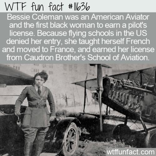 WTF Fun Fact - Bessie Coleman