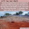 WTF Fun Fact – Burning Mountain