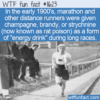 WTF Fun Fact – Champagne And Rat Poison For Energy Drink