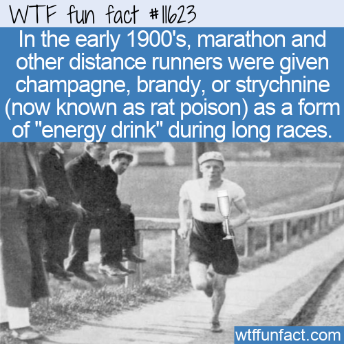 WTF Fun Fact - Champagne And Rat Poison For Energy Drink