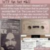 WTF Fun Fact – Charles Manson And The Beach Boys