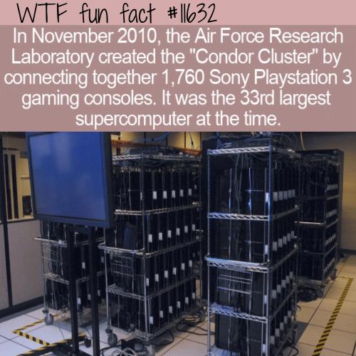 WTF Fun Fact - Condor Cluster