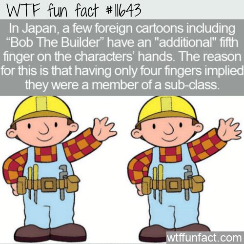 WTF Fun Fact - Five-Fingered Bob