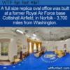 WTF Fun Fact – Full Size Oval Office Replica