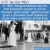 WTF Fun Fact – Gold Medal Or Porcelain Bowl