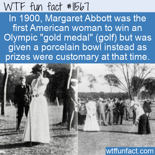WTF Fun Fact - Gold Medal Or Porcelain Bowl