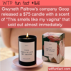 WTF Fun Fact – Goops Odd Candle Scents