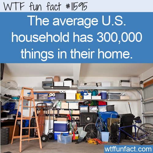 WTF Fun Fact - Homes Overflowing With Stuff