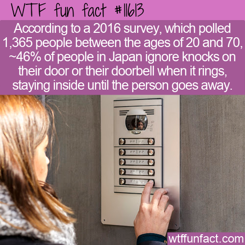 WTF Fun Fact - Ignore The Door In Japan