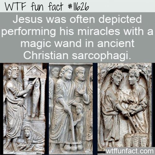 WTF Fun Fact - Jesus Magic Wand