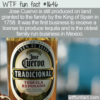 WTF Fun Fact – Jose Cuervo