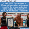 WTF Fun Fact – Longest Abdominal Plank
