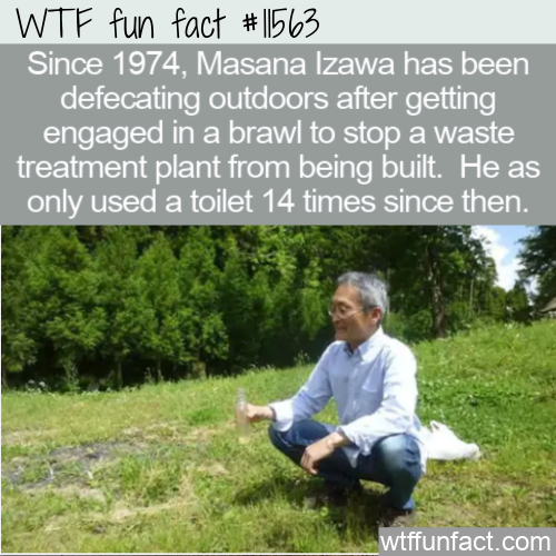 WTF Fun Fact - Masana Izawa