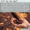 WTF Fun Fact – National Raisin Reserve Cartel