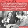 WTF Fun Fact – Nixon Smuggled Satchmo's Weed