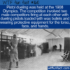 WTF Fun Fact – Pistol Dueling At The Olympics