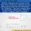 WTF Fun Fact – Return To Sender – Fictitious Cartoon Character
