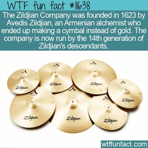WTF Fun Fact - The Origin Of Zildjian Cymbals